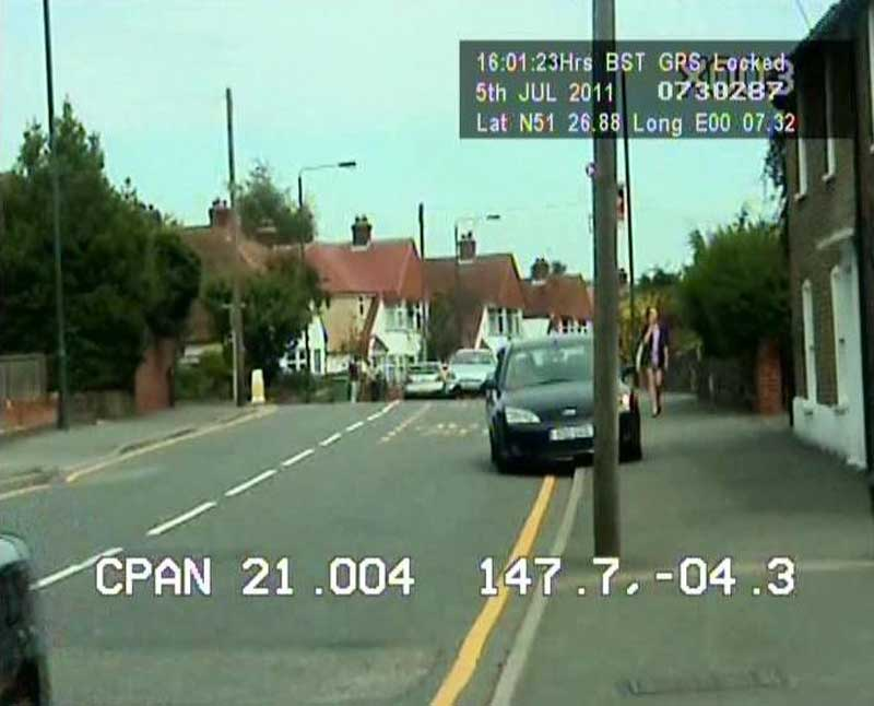 Image recorded by Bexley's CCTV car on 5 July 2011