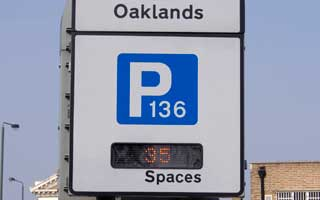 Oaklands car park