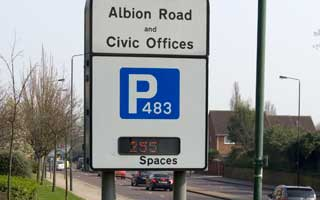 Albion Road car park