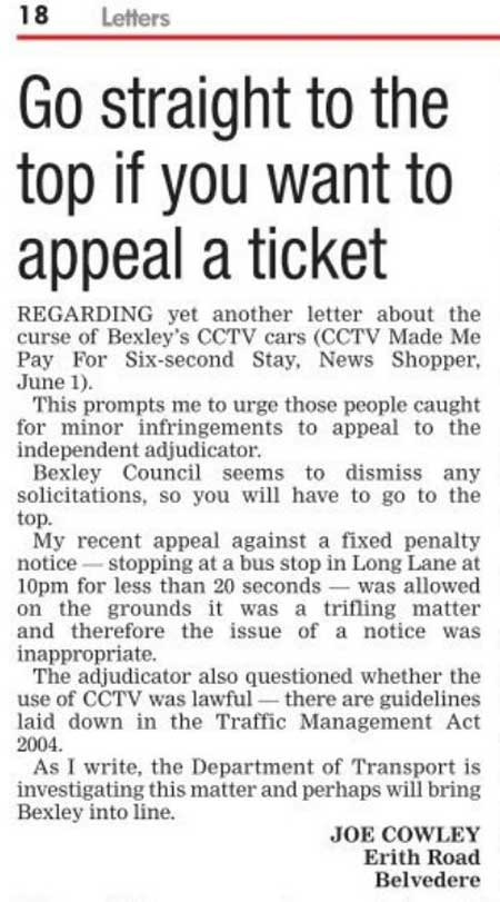 News Shopper letter